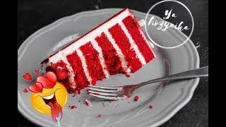 Торт 🎂 «Красный бархат» рецепт. Red velvet cake 🍰 Как приготовить обалденно вкусный торт 🎂
