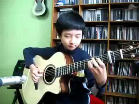 Video Thần đồng guitar SungHa Jung người Hàn Quốc biểu diễn   Clip Thần đồng guitar SungHa Jung người Hàn Quốc biểu diễn   Video Zing