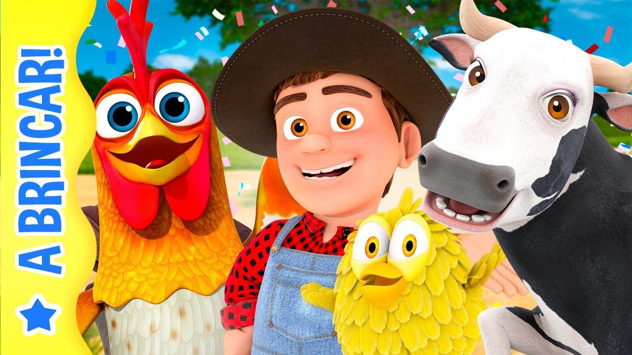 Vamos Brincar e Nos Divertir na Fazenda do Zenón! | A Brincar
