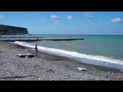 Пляжи Дивноморского