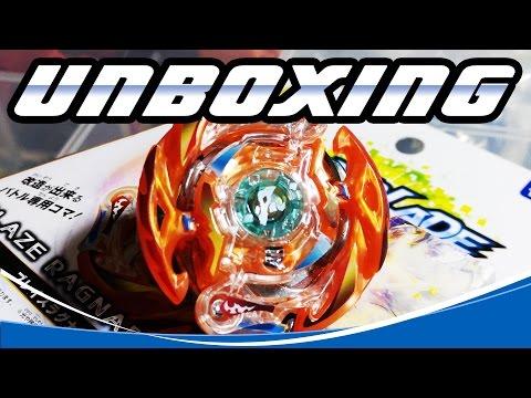 Unboxing B-75 Blaze Ragnaruk .4C.Fl [Beyblade Burst] [PT-Br]