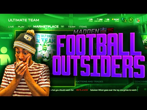 Madden NFL 15 Ultimate Team - 99 PWM Justin Houston! FOOTBALL OUTSIDERS PACK OPENING! - MUT 15