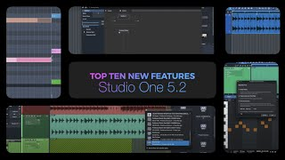 Whats New in Studio One 5.2?