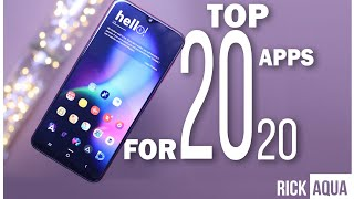 Top 20 Android  Apps // Best 20 Android Apps for January 2020