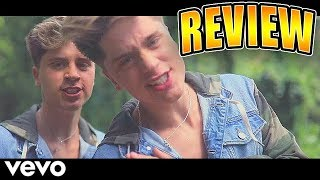 Martinez Twins - FAKE FRIENDS official Music Video REVIEW REACTION