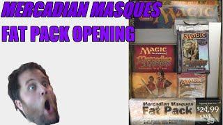 Mercadian Masques Fat Pack Opening! 75K Celebration