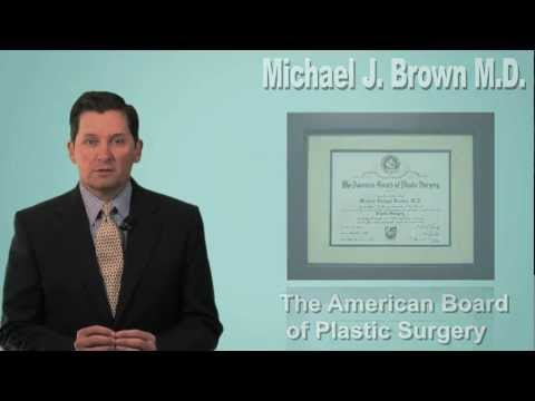 About Plastic Surgeon, Dr. Michael J. Brown