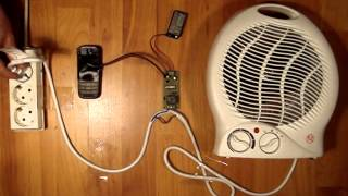 REMOTE CONTROL heating with mobile phone ( GSM CONTROLLER )
