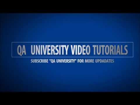 QA University | Introduction