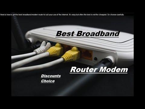 best mobile broadband wifi modem
