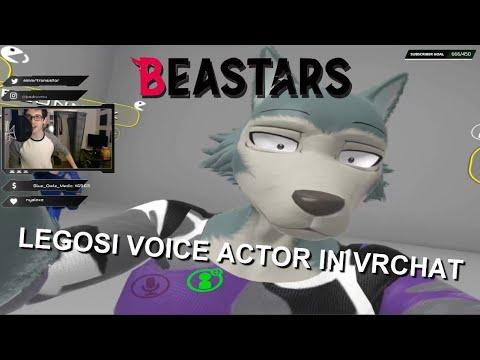 Legosi Voice Actor Plays VRChat!