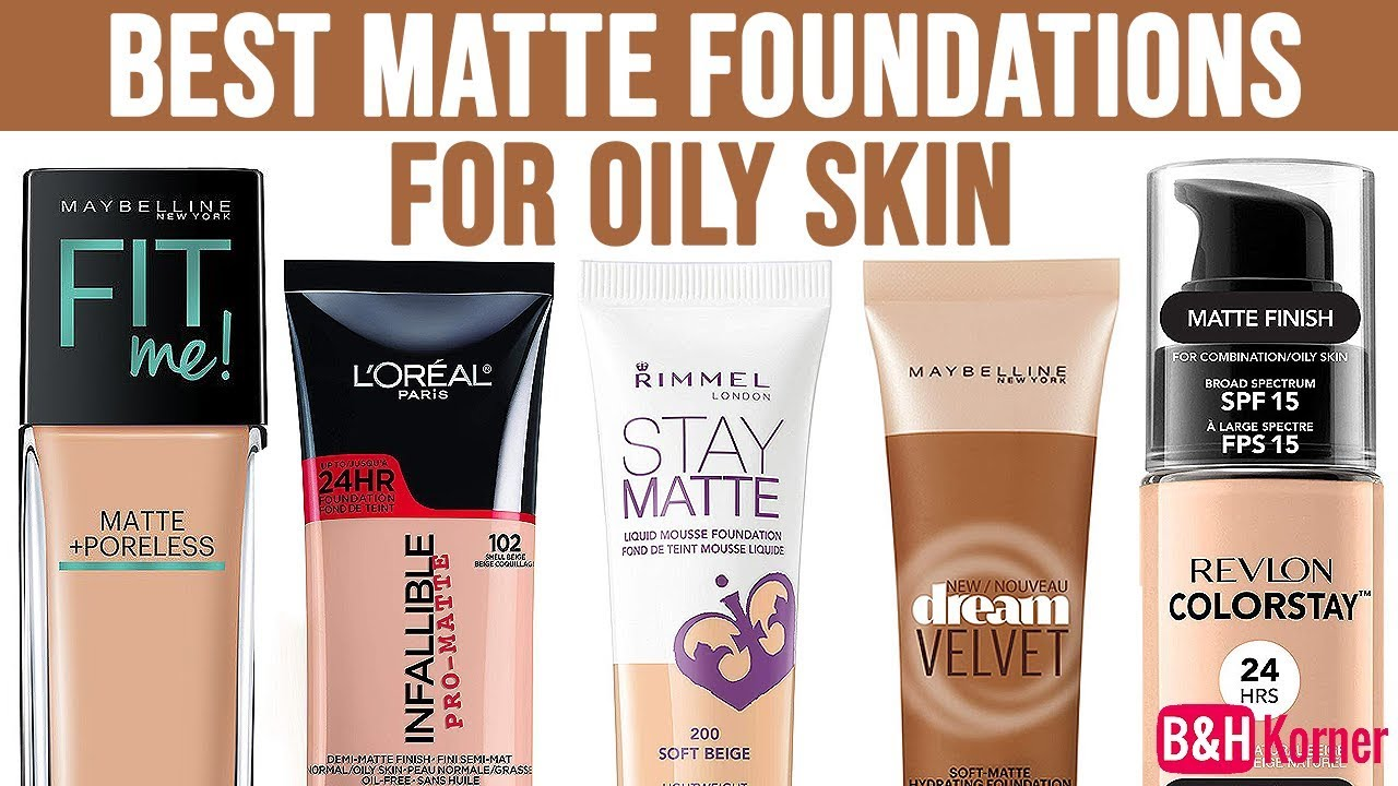 What is the best matte makeup foundation