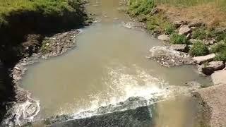Procedimiento de la Patrulla del Río en la Costanera por volcamientos ilegales