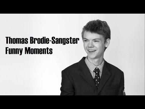 Thomas Brodie-Sangster Funny Moments