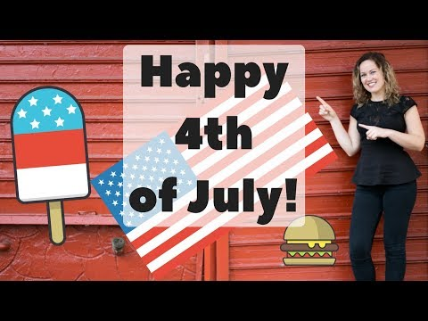 Happy 4th of July! How do you show your independence?