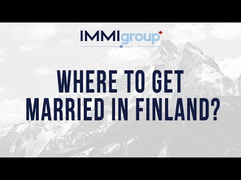 Where to get married in Finland?