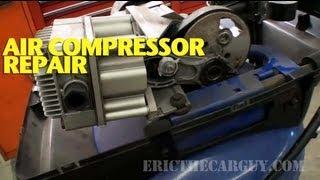 Repairing A Broken Air Compressor -Ericthecarguy