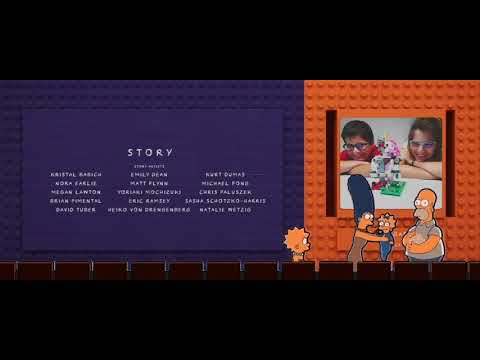 The Simpsons Theater The Lego Movie 2 The Second Part End Credits Youtube