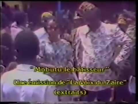 Discours du premier citoyen de Mambassa face à Mobutu