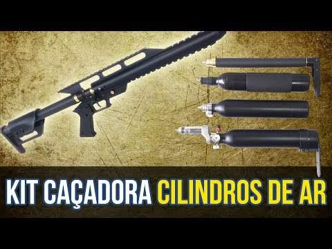 kit PCP Caçadora Desmistificando os Cilindros Ep. 8