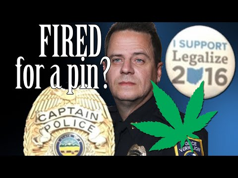 Cop Fired for Wearing a Pin??