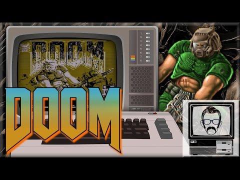 DOOM on the Commodore 64!! [Quick Play]   Nostalgia Nerd