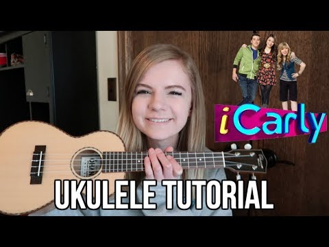 How to play the iCarly theme song on ukulele (leave it all to me by Miranda Cosgrove)