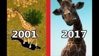 Evolution of Zoo Tycoon 2001-2017