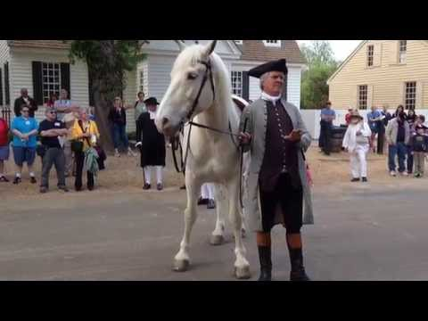Colonial Williamsburg Horse Auction 2 of 2