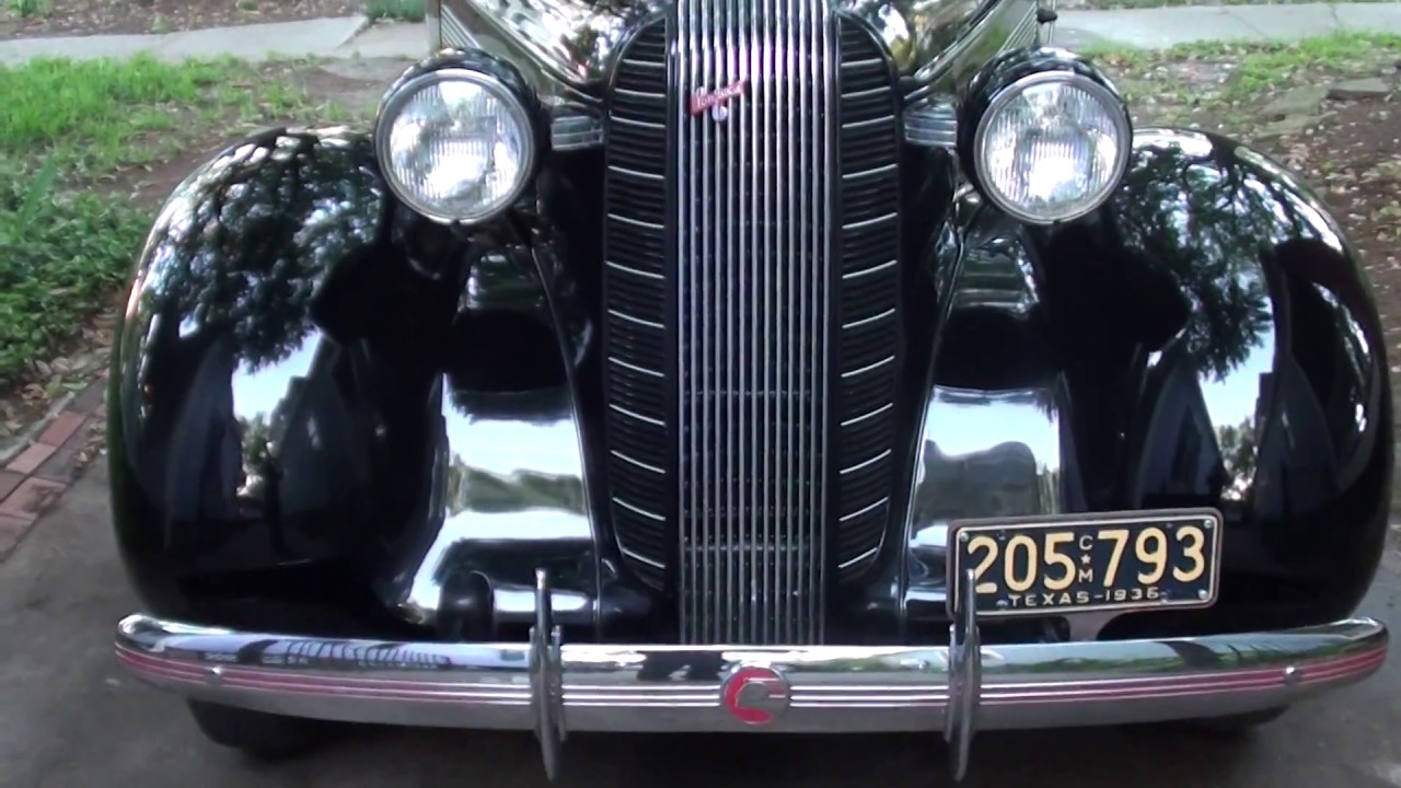 1936 Pontiac Rumble Seat Coupe Youtube