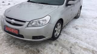 Chevrolet Epica 2007 , обзор , 6399$