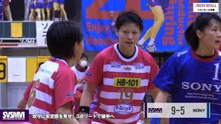 日本リーグ2017-18 第14戦 三重バイオレットアイリス vs ソニーセミコンダクタ