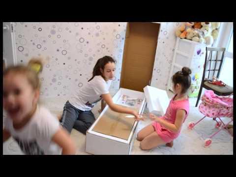 видео: Кукольный домик для Барби. Видео обзор