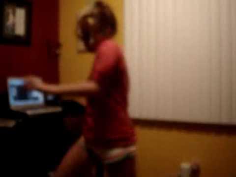 Mandy Musgrave dancing... :