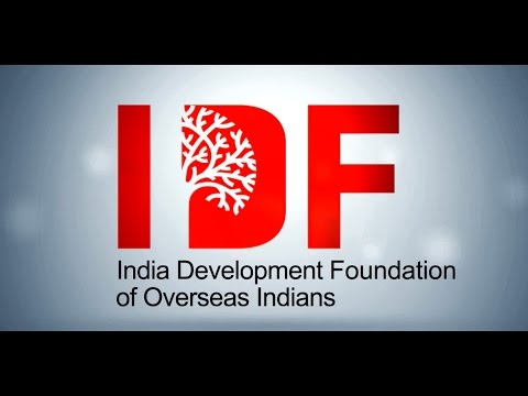 India Development Foundation of Overseas Indians (IDF-OI)