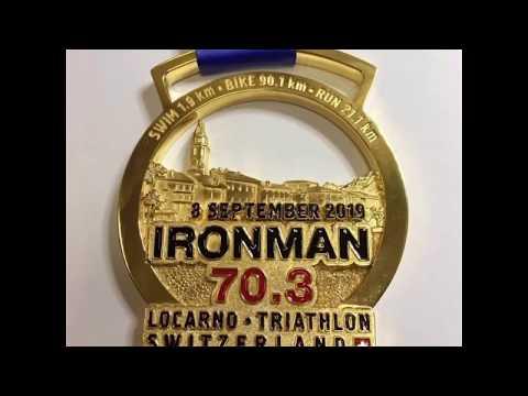 Изготовленные нами медали для IRONMAN Switzerland