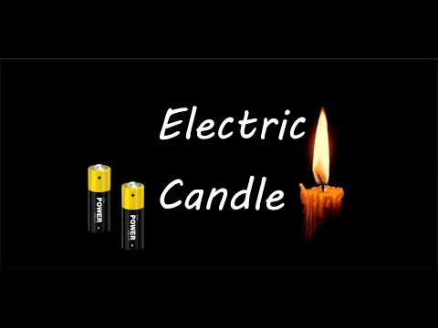 How To Make An Electric Candle