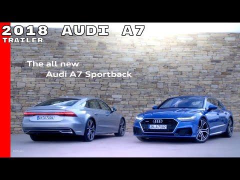2018 Audi A7 Commercial Trailer