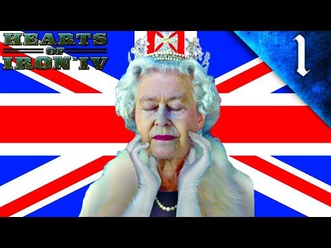 QUEEN ELIZABETH II REFORMS THE BRITISH EMPIRE! Hearts of Iron 4: Modern Day Mod: United Kingdom: #1