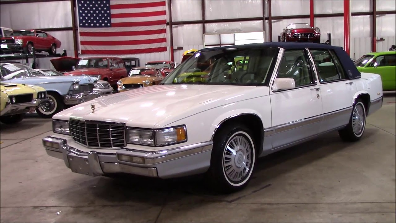 1992 Cadillac Deville White And Navy