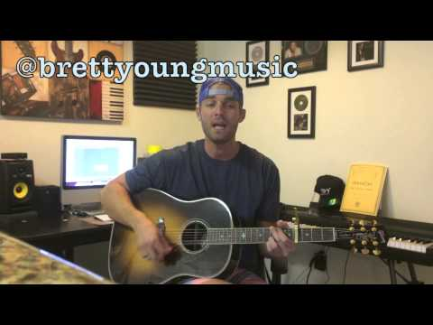 """Blake Shelton- """"Mine Would Be You"""" (Cover By Brett Young)"""
