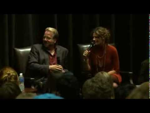 An evening with Castle and Stana Katic - USC Interview