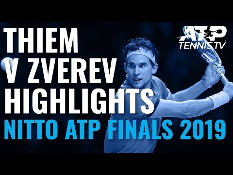 HIGHLIGHTS: Dominic Thiem v Alex Zverev | Nitto ATP Finals 2019