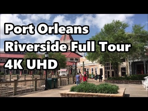 Disney's Port Orleans Riverside Resort | Full Tour | in 4K UHD | May 2017