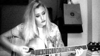Kiss Me - Ed Sheeran (Cover by Lilly Ahlberg)