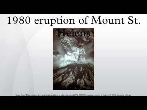1980 eruption of Mount St. Helens