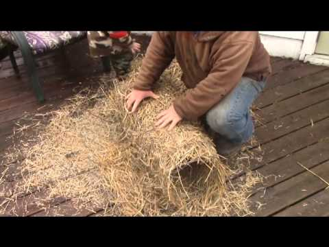 How to make a Mallard cylinderhen house  YouTube