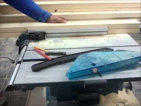 Haciendo una ventana de madera parte 1 mecanizado del - Hacer una ventana de madera ...