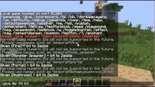 Como conseguir spawner, bloques de Comandos en Minecraft 1.7.2