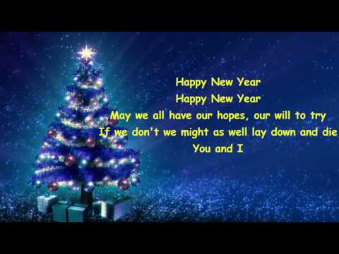 ABBA – Happy New Year (videolyrics)